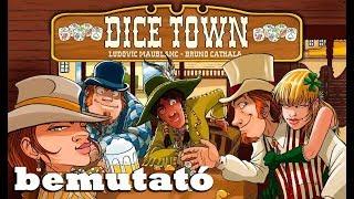 Dice Town - társasjáték bemutató