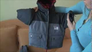 Обзор комбинезона зимнего для мальчика Carters 12 месяцев