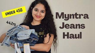 Myntra Jeans Haul Huge myntra sale Jeans under 450