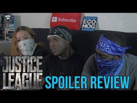 JUSTICE LEAGUE Spoiler Movie Review