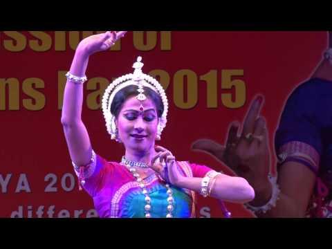 Aarya 2015   Odissi Dance 1 by Sujata Mohapatra