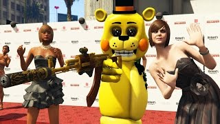 toy animatronics vs ultimate movie premiere gta 5 mods fnaf funny moments