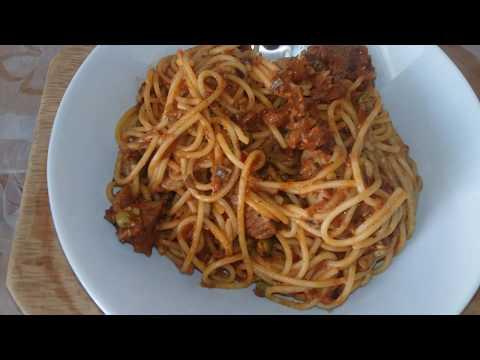 spaghettis-viande