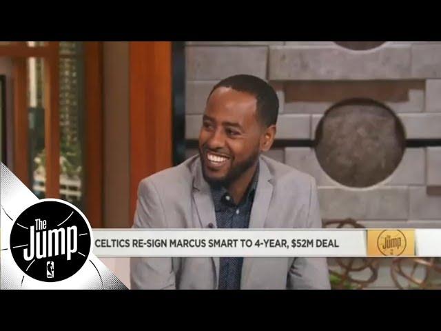 Amin Elhassan: Boston Celtics' identity embodied in Marcus Smart | The Jump | ESPN