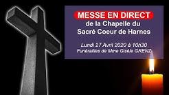 Cérémonie des Adieux de Mme Gisèle GRENZ  - Chapelle Polonaise du Sacré-Coeur de Harnes