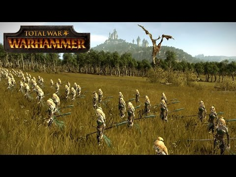 This is Warhammer! - The Power of the Wood Elves - Total War Warhammer Multiplayer Battle