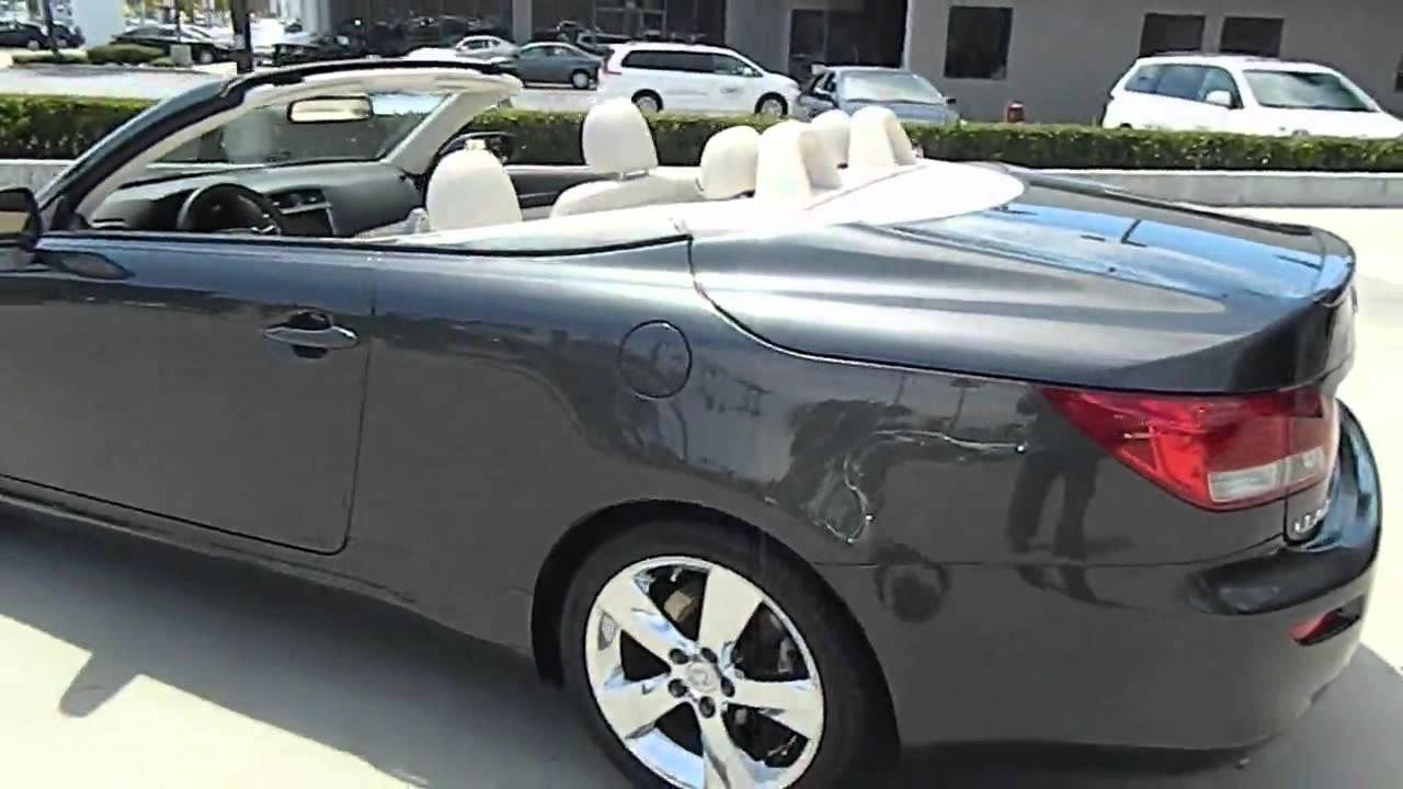 Lexus Van Nuys >> 2010 Lexus IS - IS 250 Sport Convertible 2D Van Nuys CA 320468 - YouTube