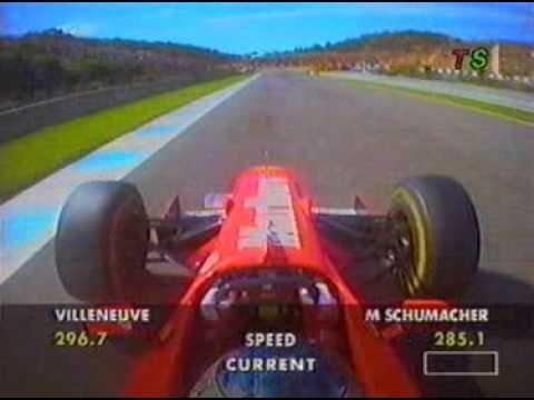 Michael Schumacher 1997 Jerez onboard