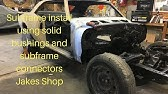 How To: Subframe Graft (Front Clipping) - YouTube