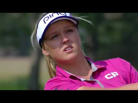 Brooke Henderson Notched Emotional Win At Canadian Pacific Women's Open! Congrats!
