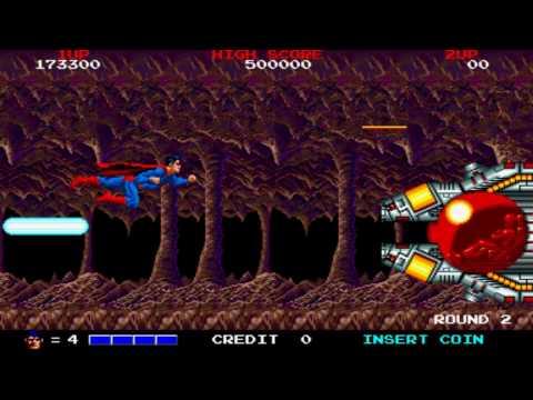 [HD] Superman Round 2 1988 Taito Mame Retro Arcade Games