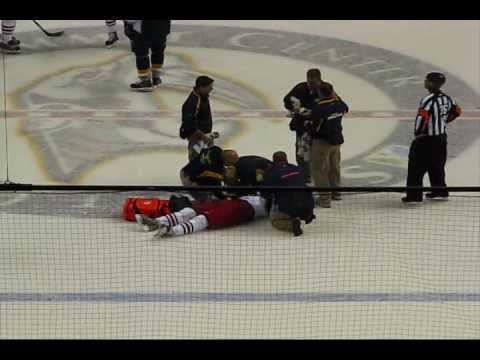 Tootoo vs Sestito Fight Ends with Injury