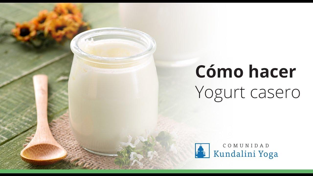 como hacer yogurt casero paso a paso