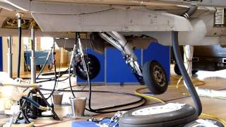 Saab JAS 39 Gripen  landing gear sequence part 3