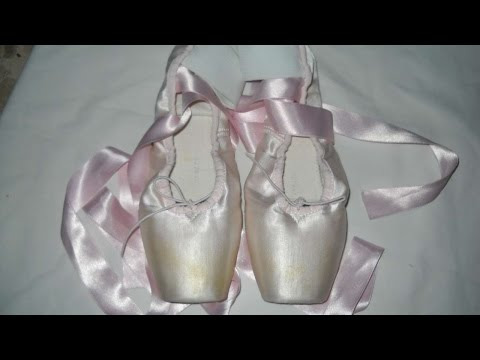 How To Sew Ribbons And Elastic Bands On Pointe Shoes – DIY Style Tutorial – Guidecentral