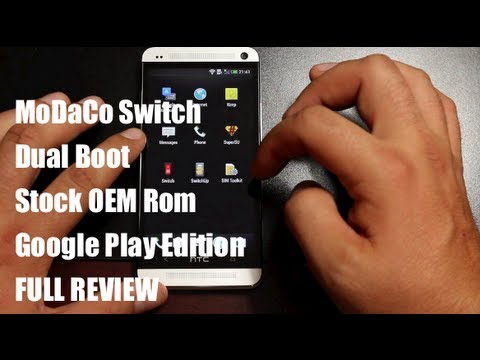 MoDaCo Switch, Switch Between Stock And Google Play Edition Rom [FULL REVIEW]