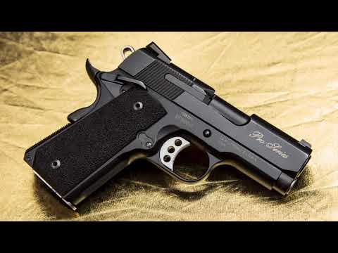 Presenting the PERFORMANCE CENTER® SW1911 PRO SERIES®