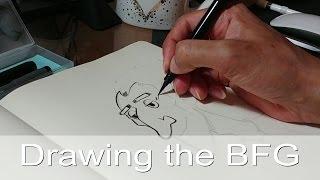 Drawing The BFG