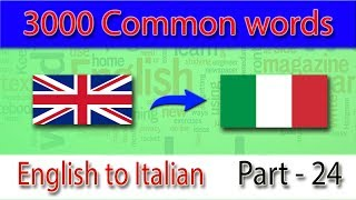 english to italian  1151 1200 most common words in english   words starting with g