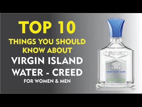 Top 10 Things About: Virgin Island Water Creed for women and men