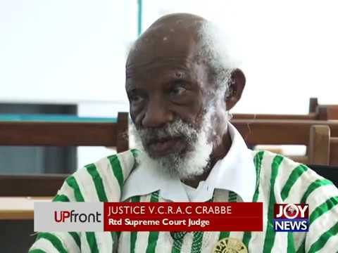 Strengthening Ghana's Legal System - UPfront on JoyNews (6-7-17)