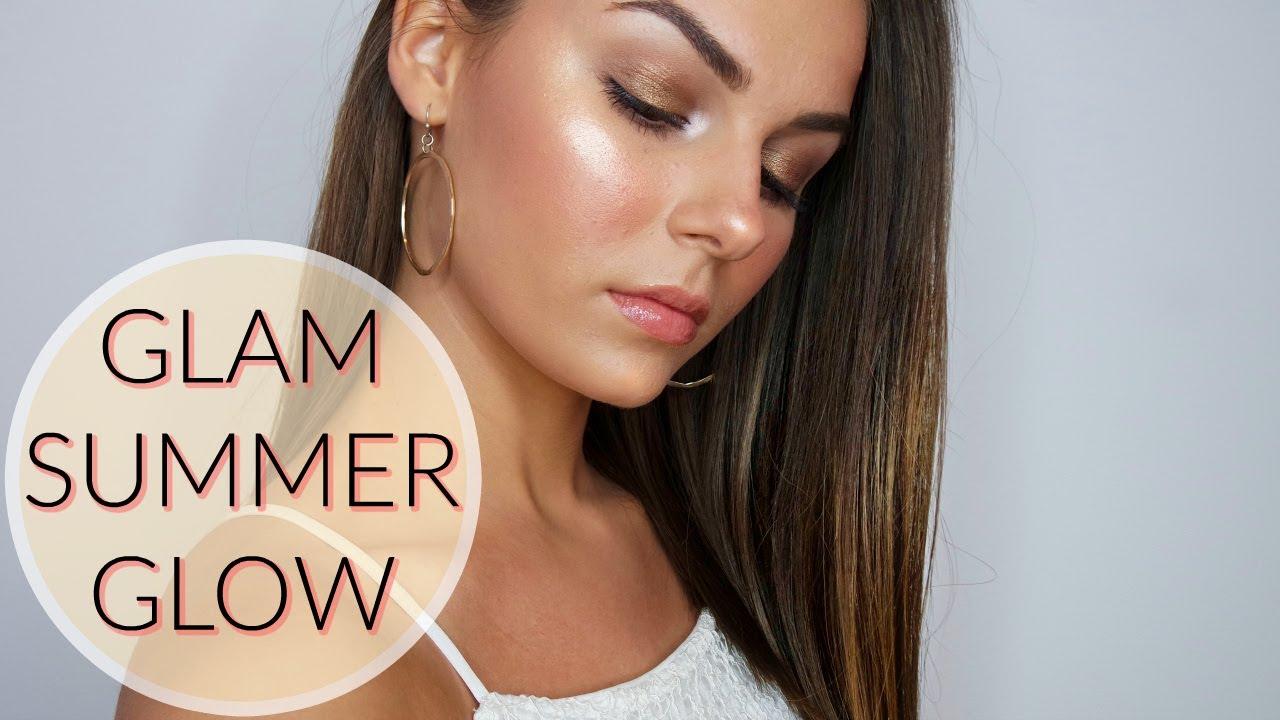 Glam Summer Glow - Makeup Tutorial