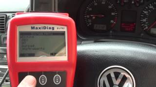 How I Reset My VW Airbag Light Golf Mk4 01218 fault code