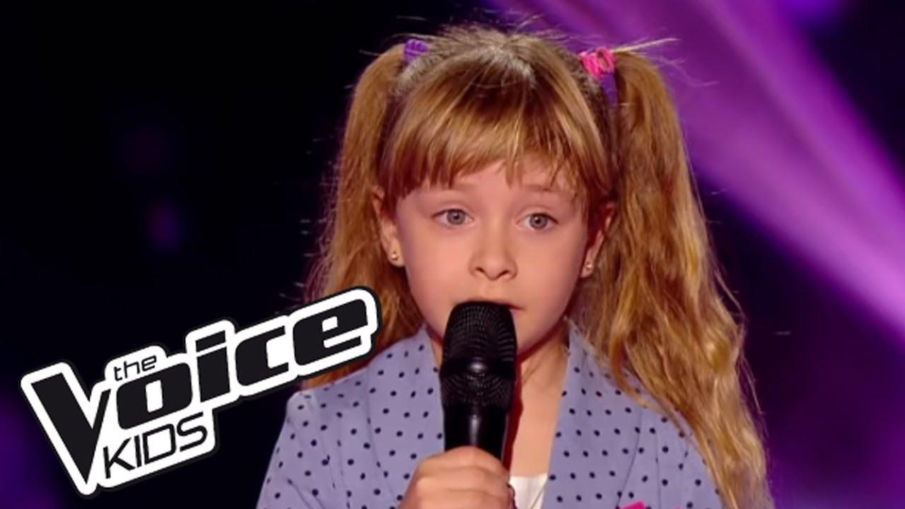 La Vie En Rose Edith Piaf Gloria The Voice Kids 2014 Blind