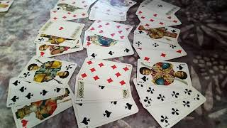 ♥ЧЕРВОВАЯ ДАМА, гадание онлайн на  игральных  картах,  ближайшее будущее, цыганский