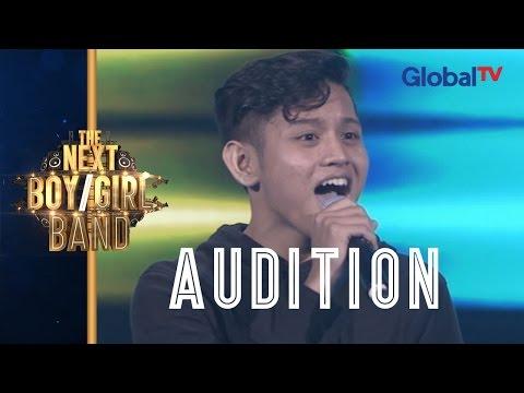 Iqbal Sings 'Lapang Dada' (Sheila On 7) I The Next Boy/Girl Band GlobalTV