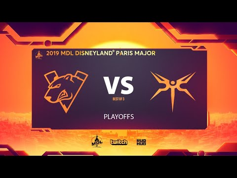 Virtus.pro vs Mineski, MDL Disneyland® Paris Major, bo3, game 1 [Mael & NS]