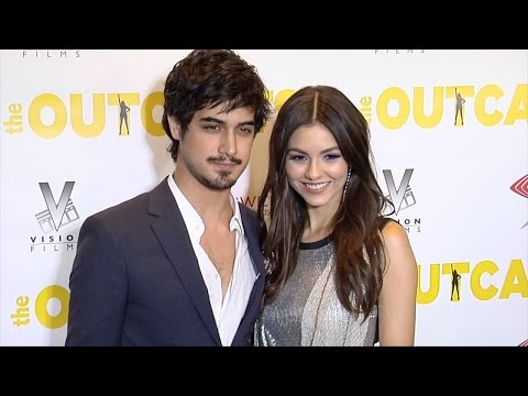 """Victoria Justice and Avan Jogia """"The Outcasts"""" Premiere Red Carpet"""
