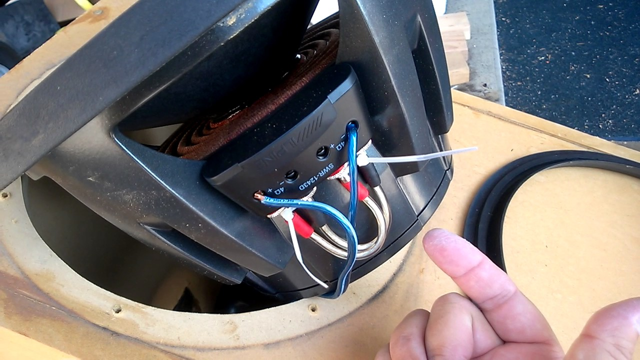 medium resolution of alpine type r installation tip