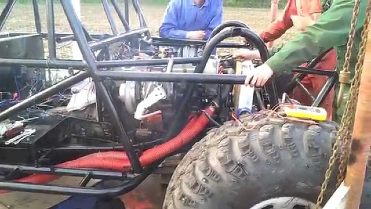 First start engine OM606 with Holset Turbo