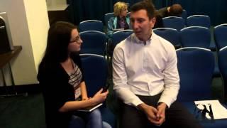 Интервью с Егором Воронцовым на Неделе предпринимательства в Ярославле