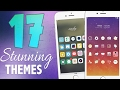17 STUNNING iOS 10 Themes! | BEST iOS 10 - 10.2 Cydia Jailbreak Themes