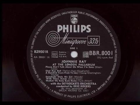 'Johnnie Ray At The London Palladium' 1954 10''  Album