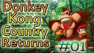 Let's Play: Donkey Kong Country Returns - Parte 1