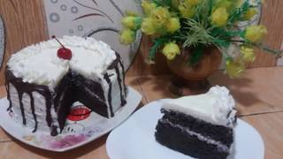 RESEP BLACK FOREST LEMBUT SIMPLE MURAH MERIAH