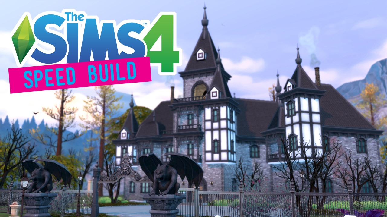 The Sims 4 Speed Build Carlisle Manor Gothic Victorian