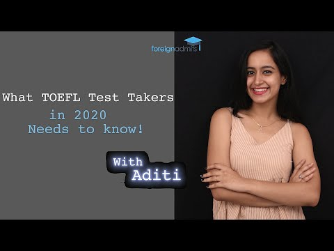 What TOEFL Test Takers in 2020 Need to Know! : Coronavirus  [ForeignAdmits]