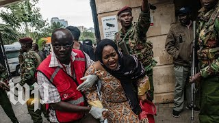 Attack on upscale Nairobi hotel claimed by al-Shabab militants