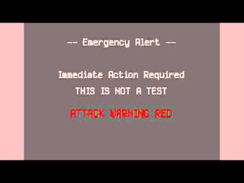 UK Emergency Alert - Nuclear Attack-Extended version - YouTube