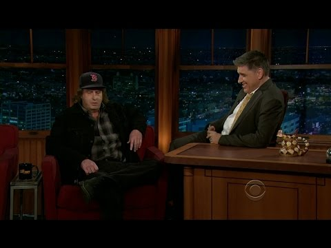 Late Late Show With Craig Ferguson 1/19/2012 Steven Wright,