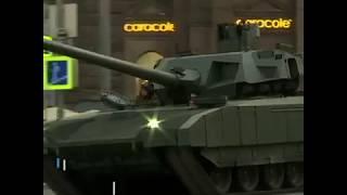 俄罗斯红场胜利日阅兵式首次彩排 新式武器悉数亮相