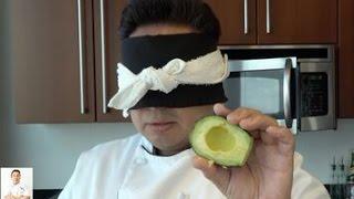 Blindfolded Sushi Making: California Roll  - How To Make Sushi Series