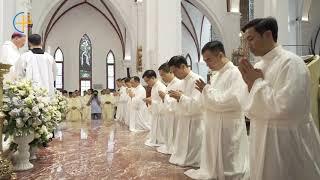 Thánh Lễ Truyền chức Phó Tế tại Tổng Giáo phận Hà Nội 2019