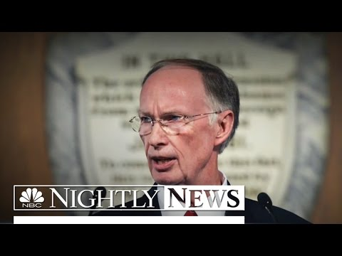 Leaked Audio Tapes Raise Pressure to Impeach Alabama Governor | NBC Nightly News