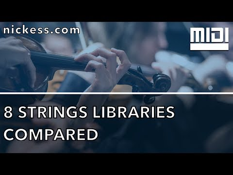 8 sample strings libraries compared - Nick - Medium