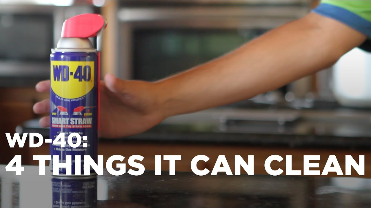 4 Ways To Clean With Wd 40 Youtube